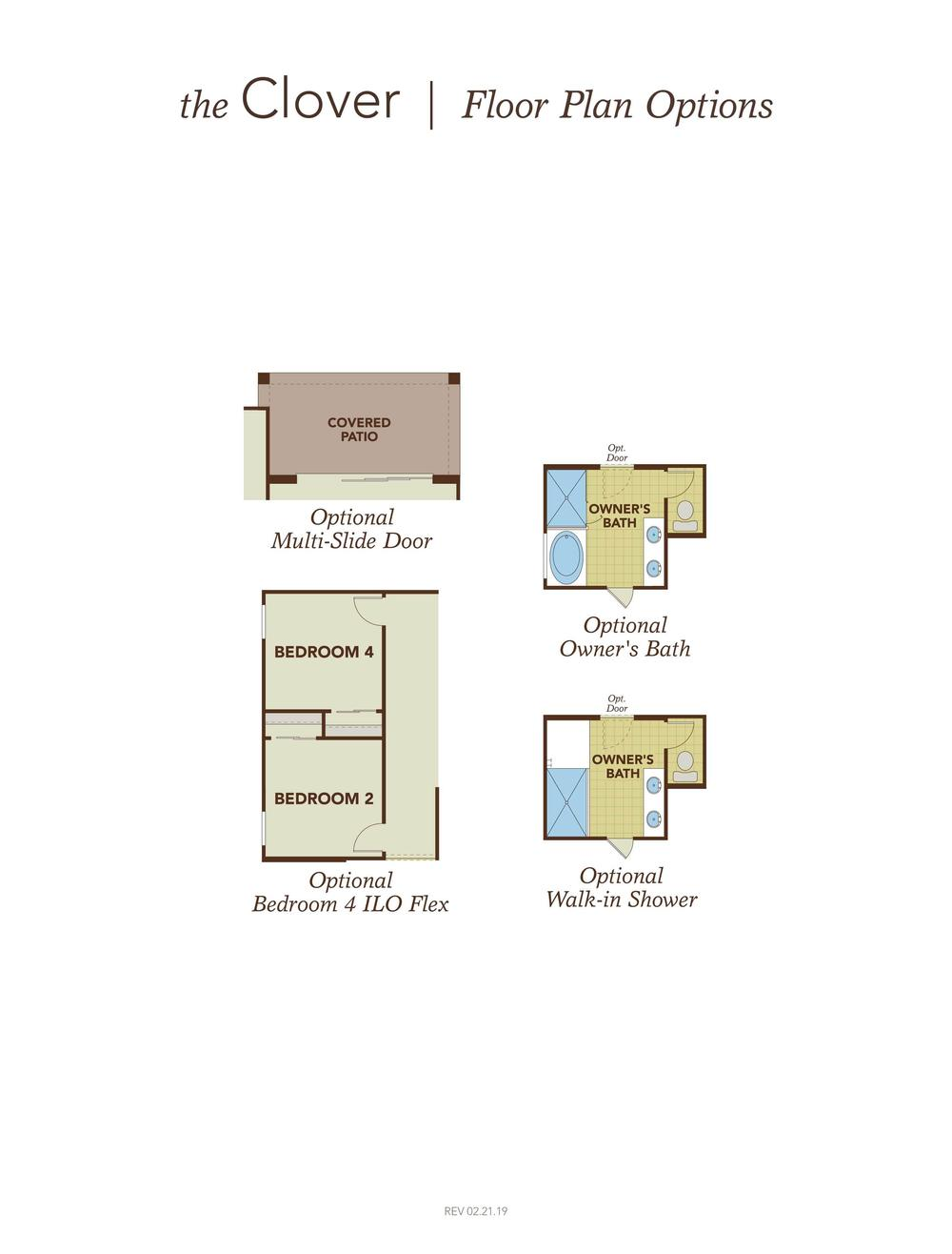 Clover Home Plan by Gehan Homes in Marley Park - Castillo Series