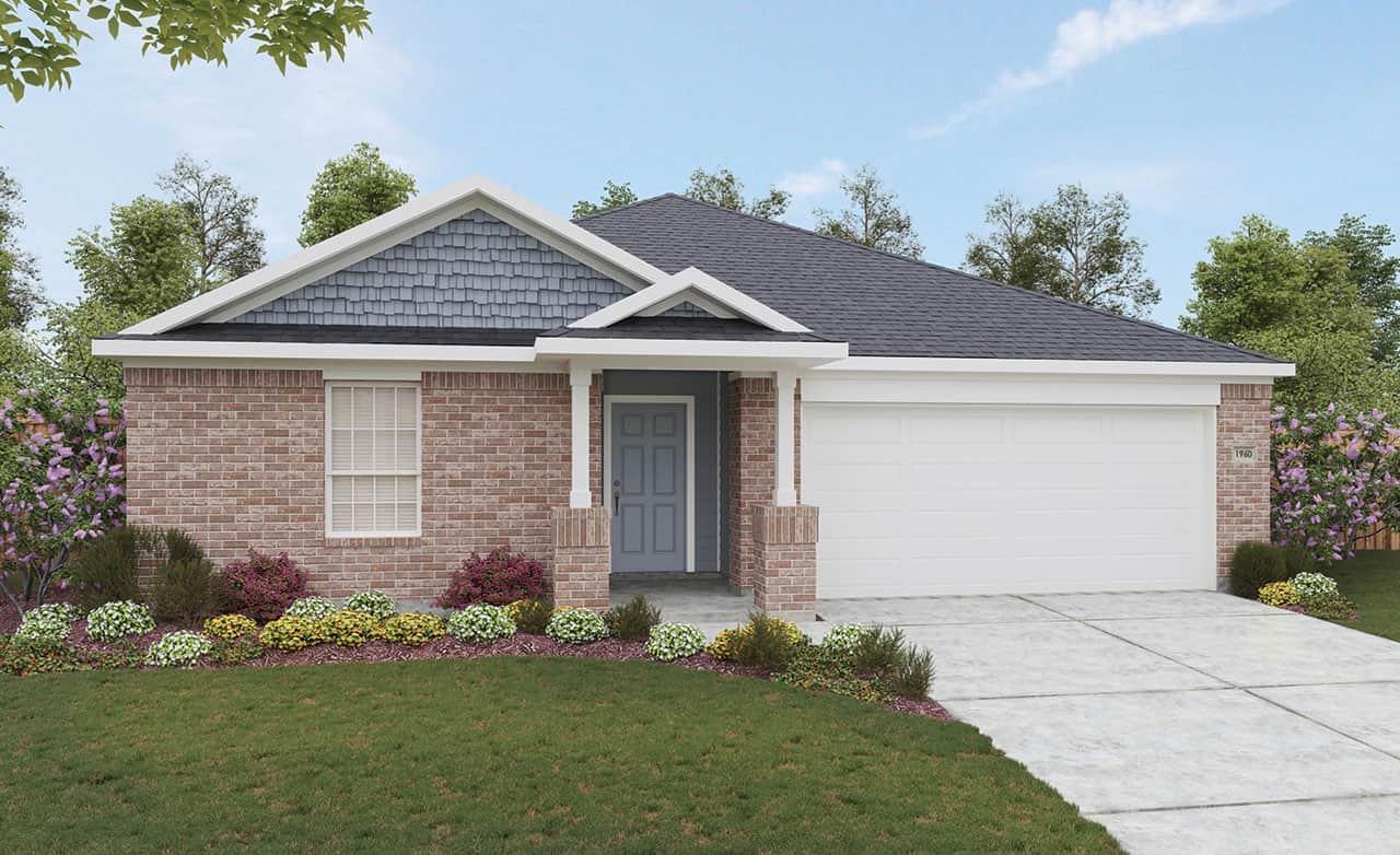 Exterior featured in the Landmark Series - Kimbell By Gehan Homes in San Antonio, TX