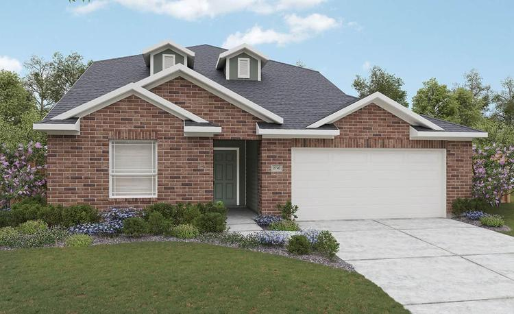featured in the Meyerson By Gehan Homes in Houston, TX
