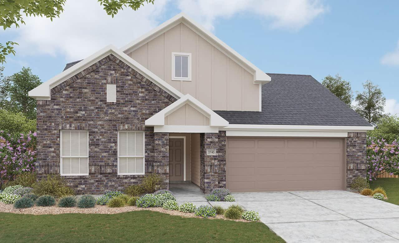 Exterior featured in the Landmark Series - Meyerson By Gray Point Homes in Fort Worth, TX