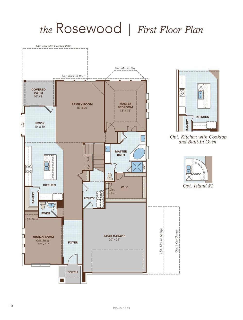 Rosewood First Floor Plan