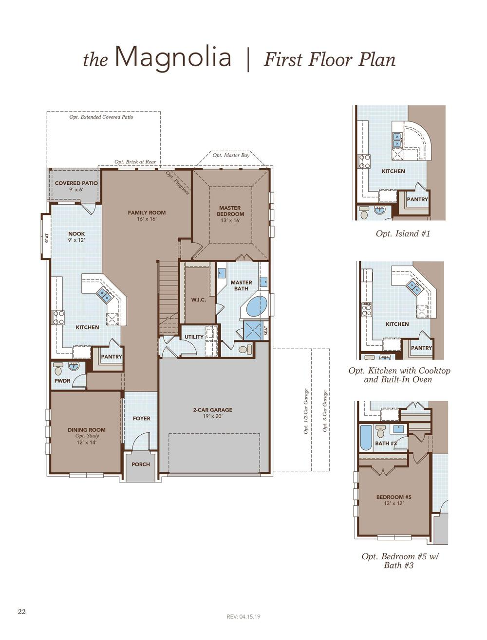Magnolia Home Plan by Gehan Homes in Sunfield on