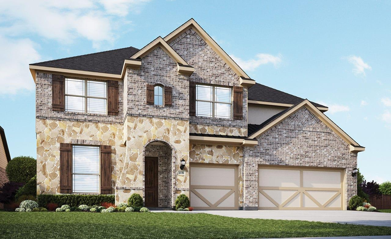 Cornell Home Plan By Gehan Homes In The Park At Blackhawk