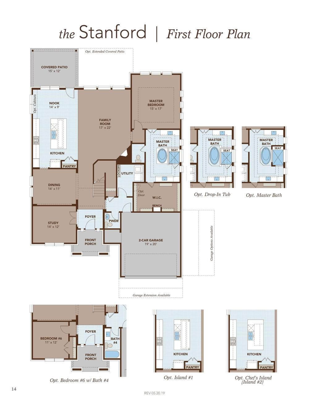 Stanford Home Plan By Gehan Homes In Riverview