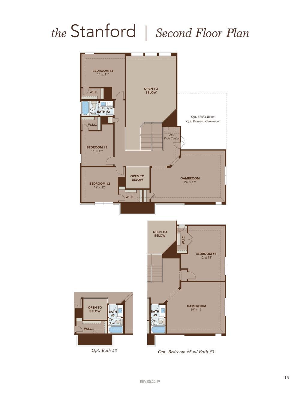 Stanford Second Floor Plan