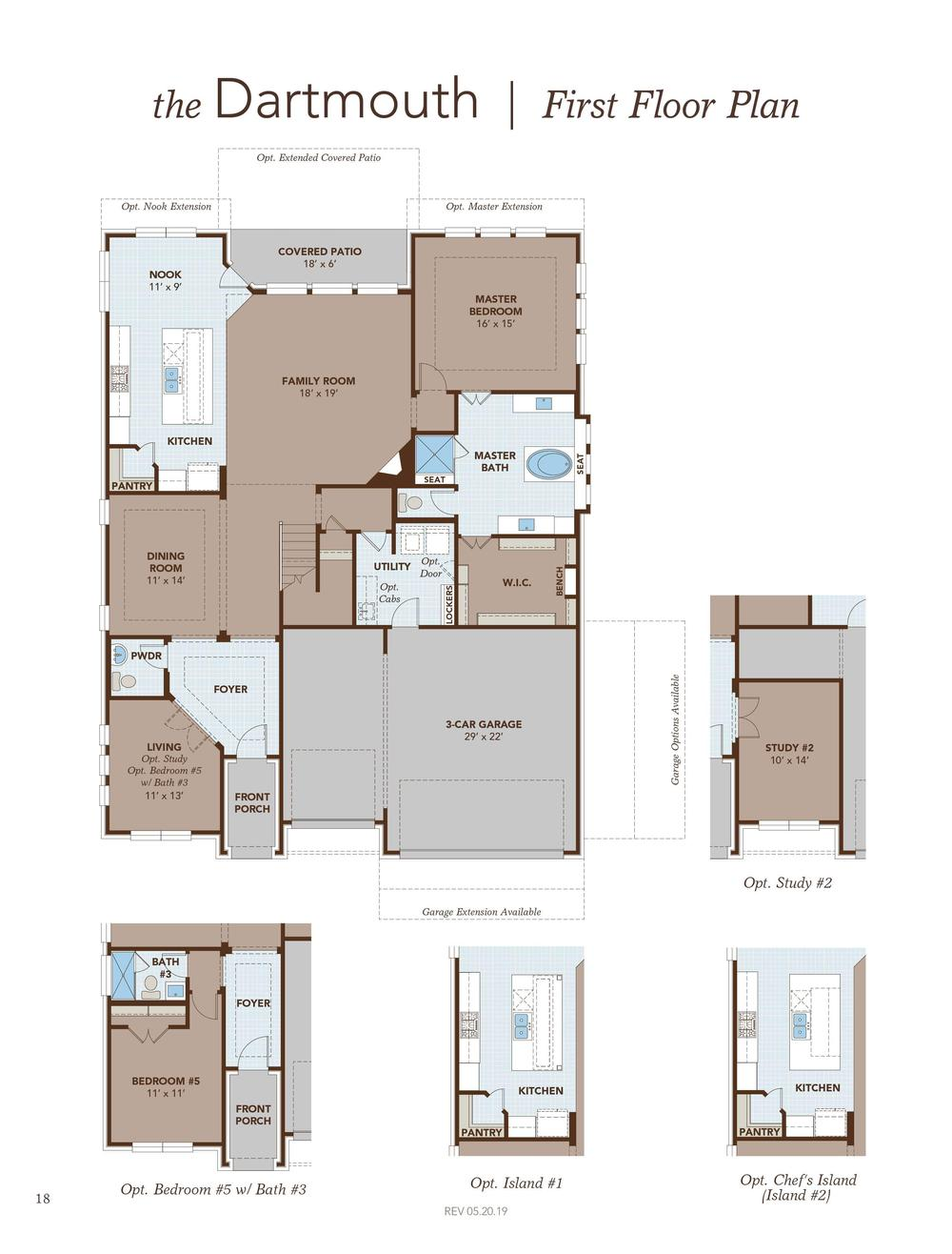 Dartmouth First Floor Plan
