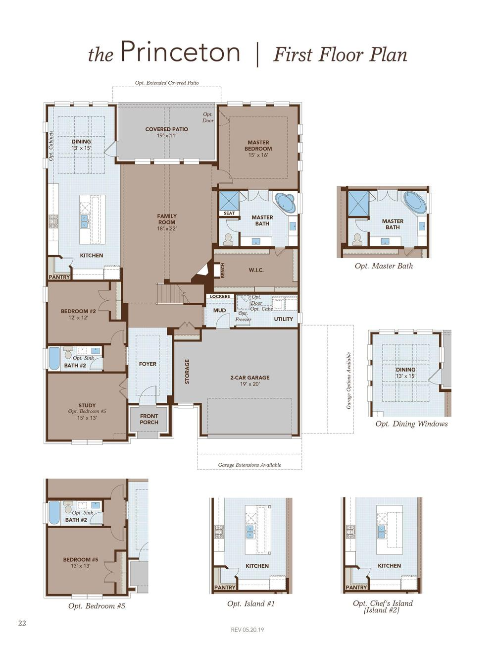 Princeton Home Plan By Gehan Homes In Riverview