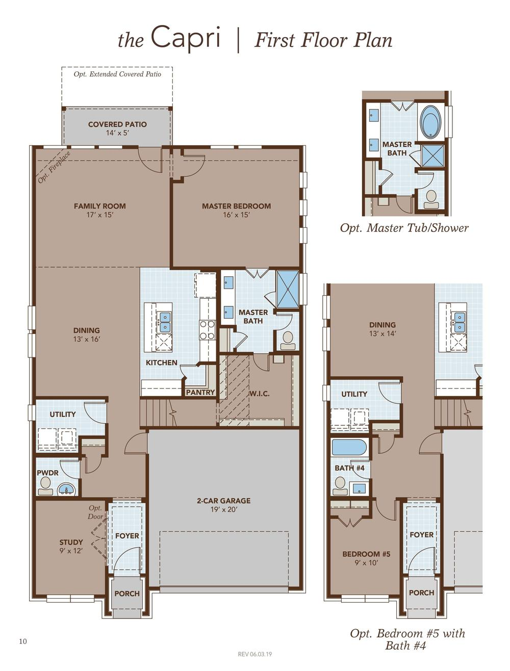 Capri First Floor Plan