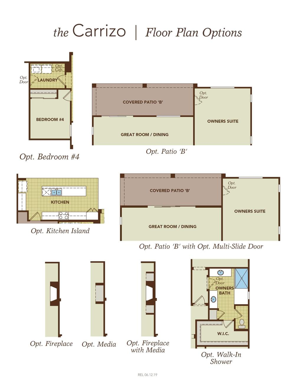 Carrizo Home Plan By Gehan Homes In Crossriver Summit