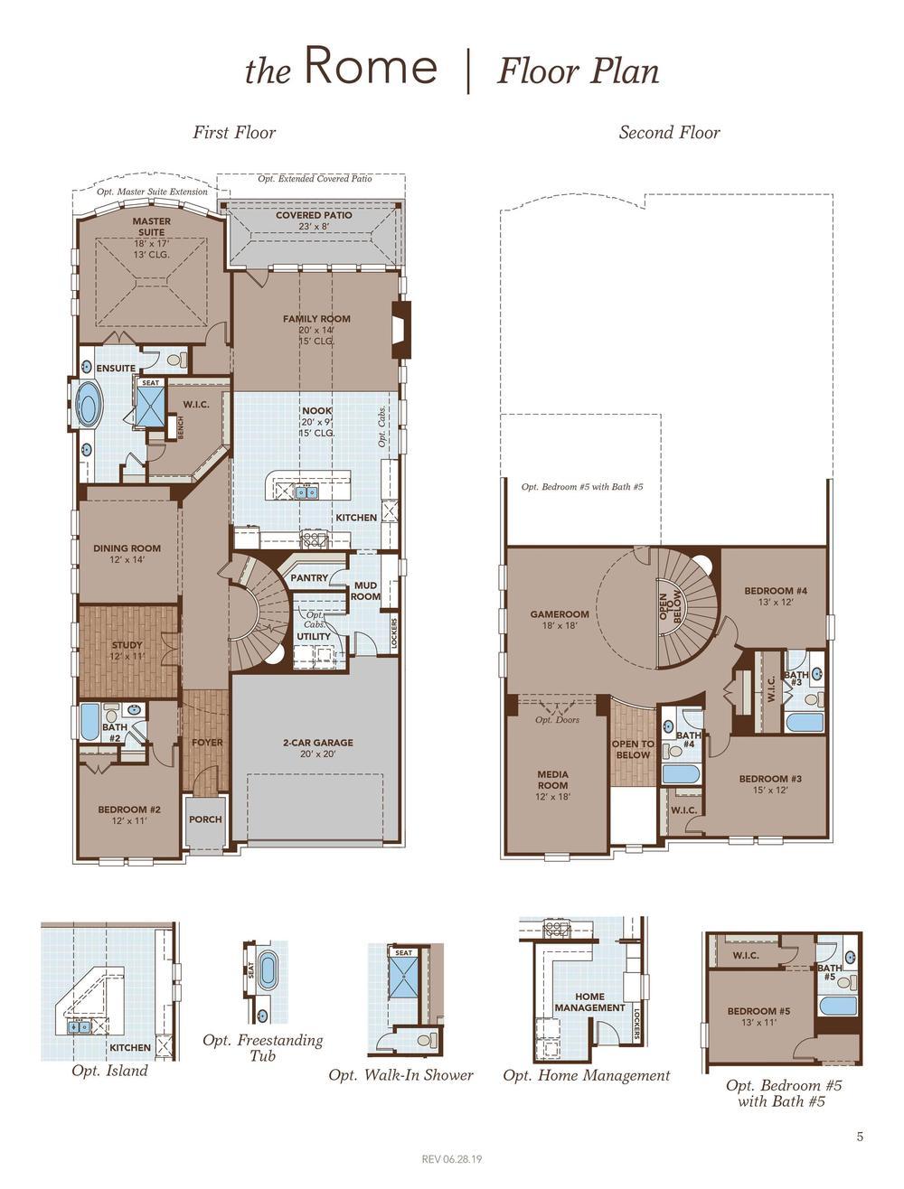 Rome Floor Plan