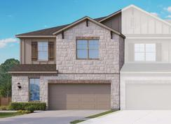 Townhome Series - Yosemite A - Cardinal Crossing: Pflugerville, Texas - Gray Point Homes