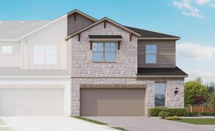 Townhome Series - Yosemite F - Cardinal Crossing: Pflugerville, Texas - Gray Point Homes