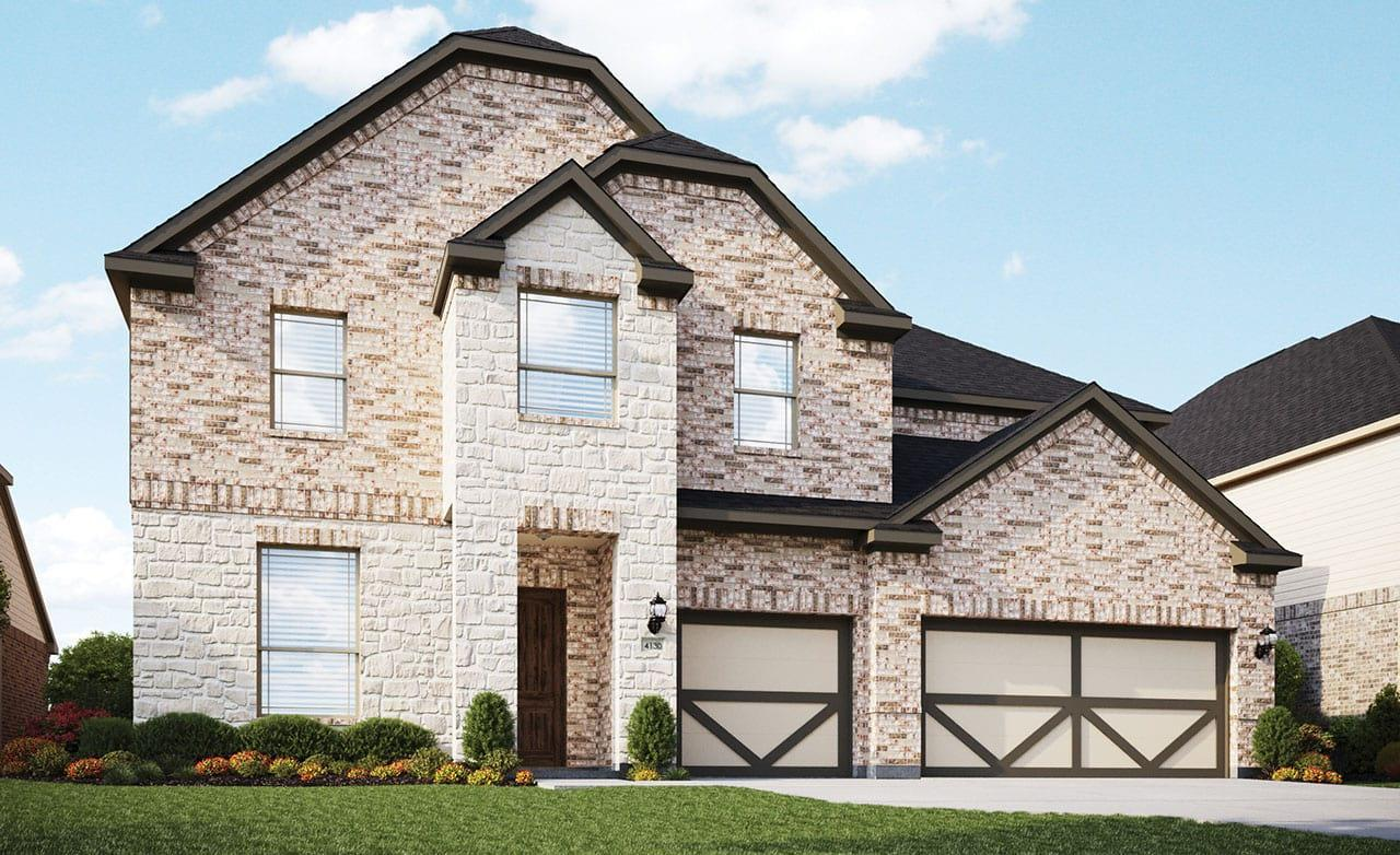 Classic Series Cornell Home Plan By Gehan Homes In