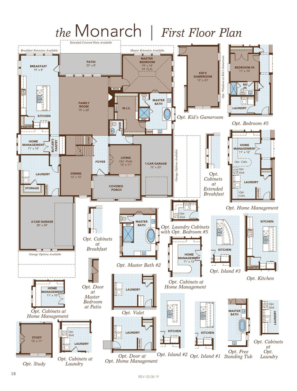 Signature Series Monarch Home Plan By Gehan Homes In