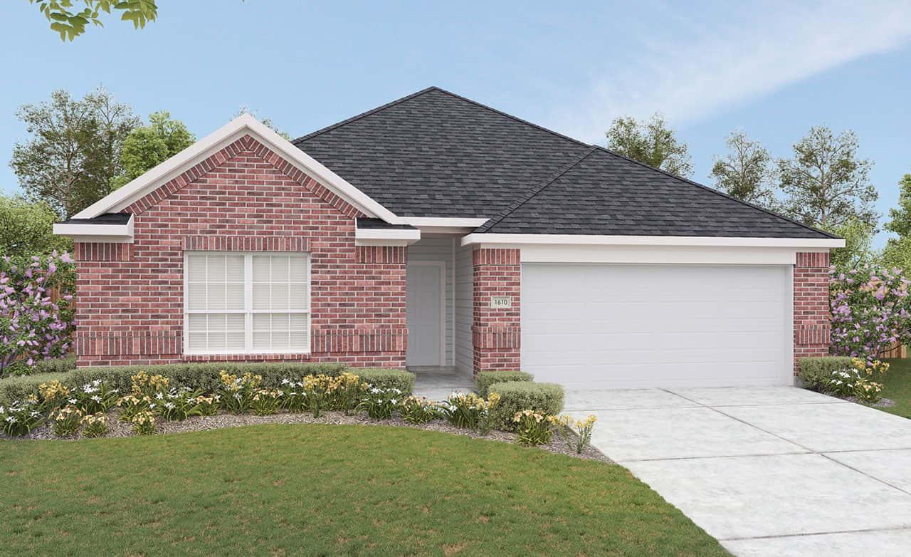 Landmark Series Blanton Home Plan By Gray Point Homes In
