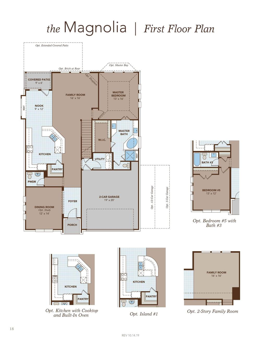 Magnolia Home Plan By Gehan Homes In Riverset