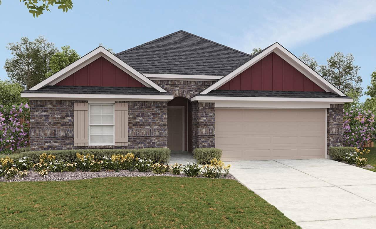Exterior featured in the Landmark Series - Sundance By Gray Point Homes in San Antonio, TX