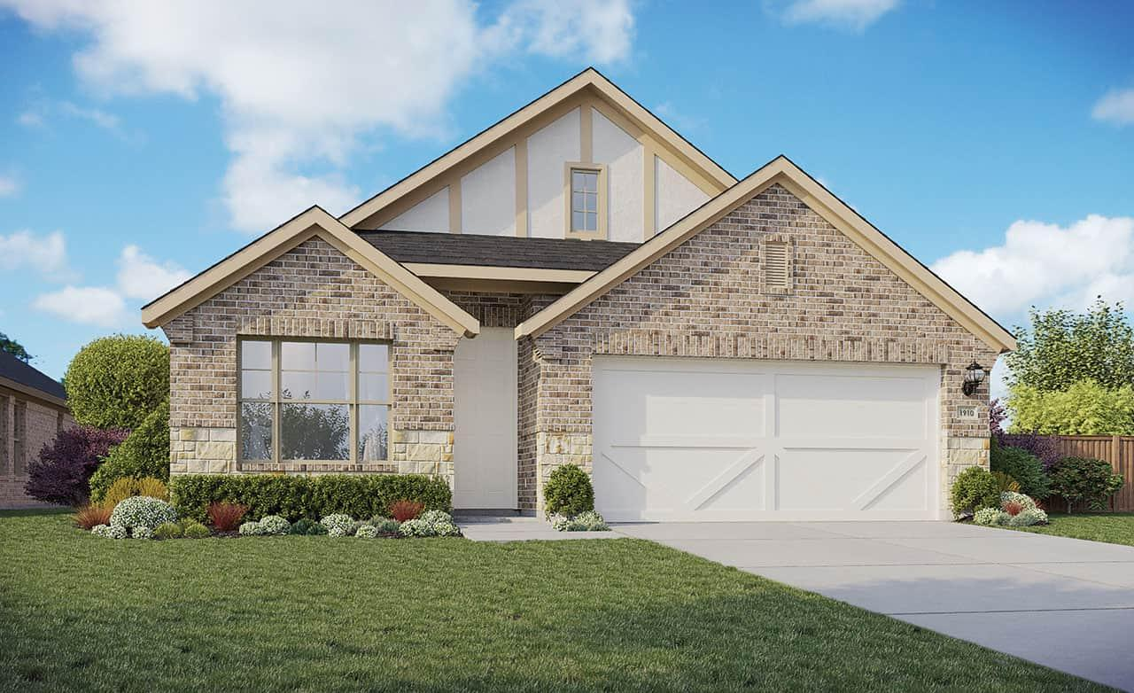 Exterior featured in the Enclave Series - Maldives By Gehan Homes in Houston, TX