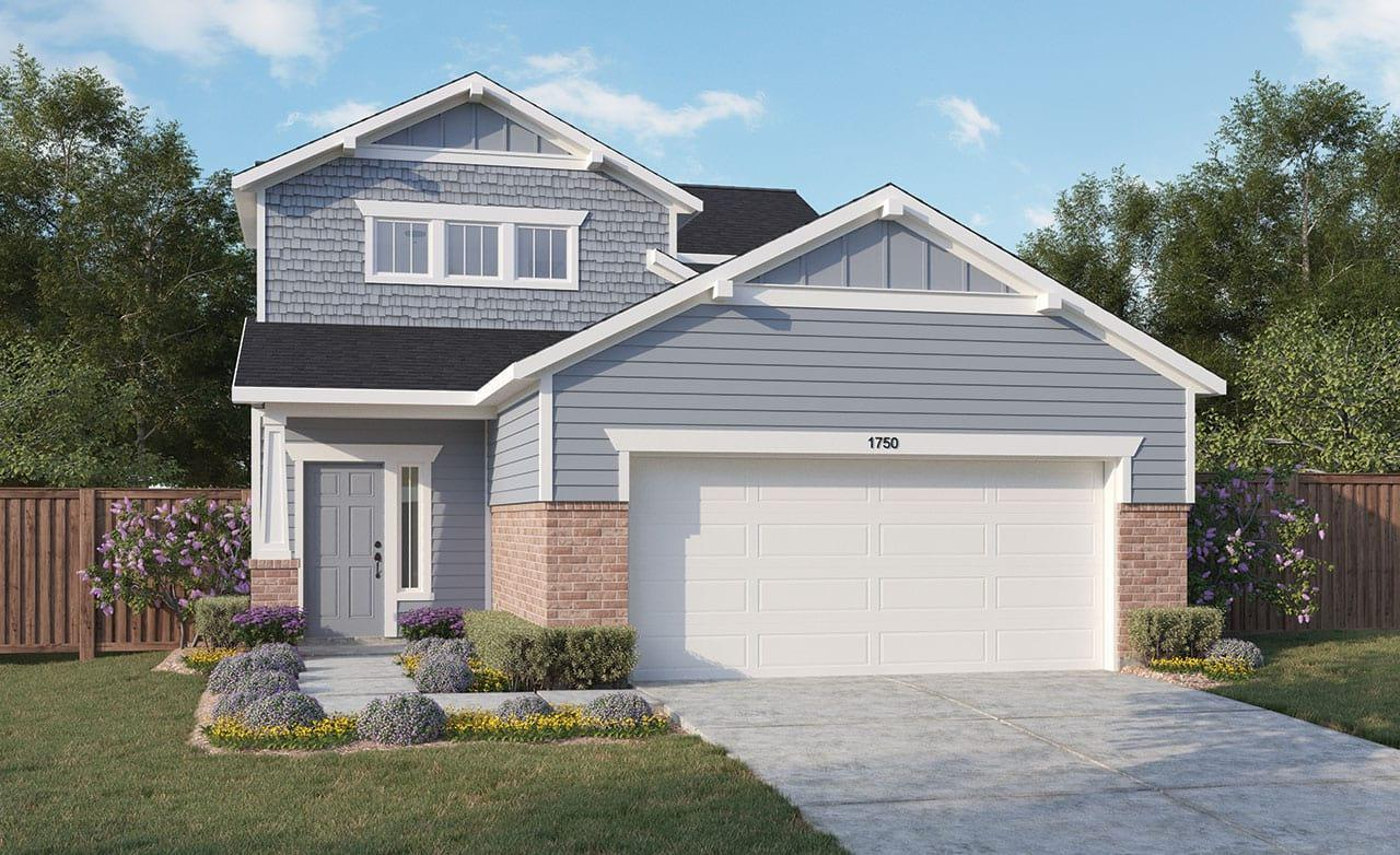 Exterior featured in the Journey Series - Latitude By Gehan Homes in Dallas, TX