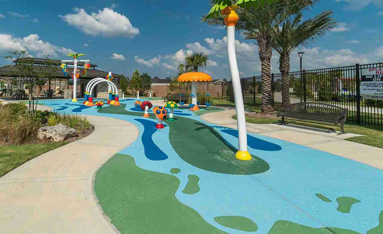 Balmoral Community Splash Pad