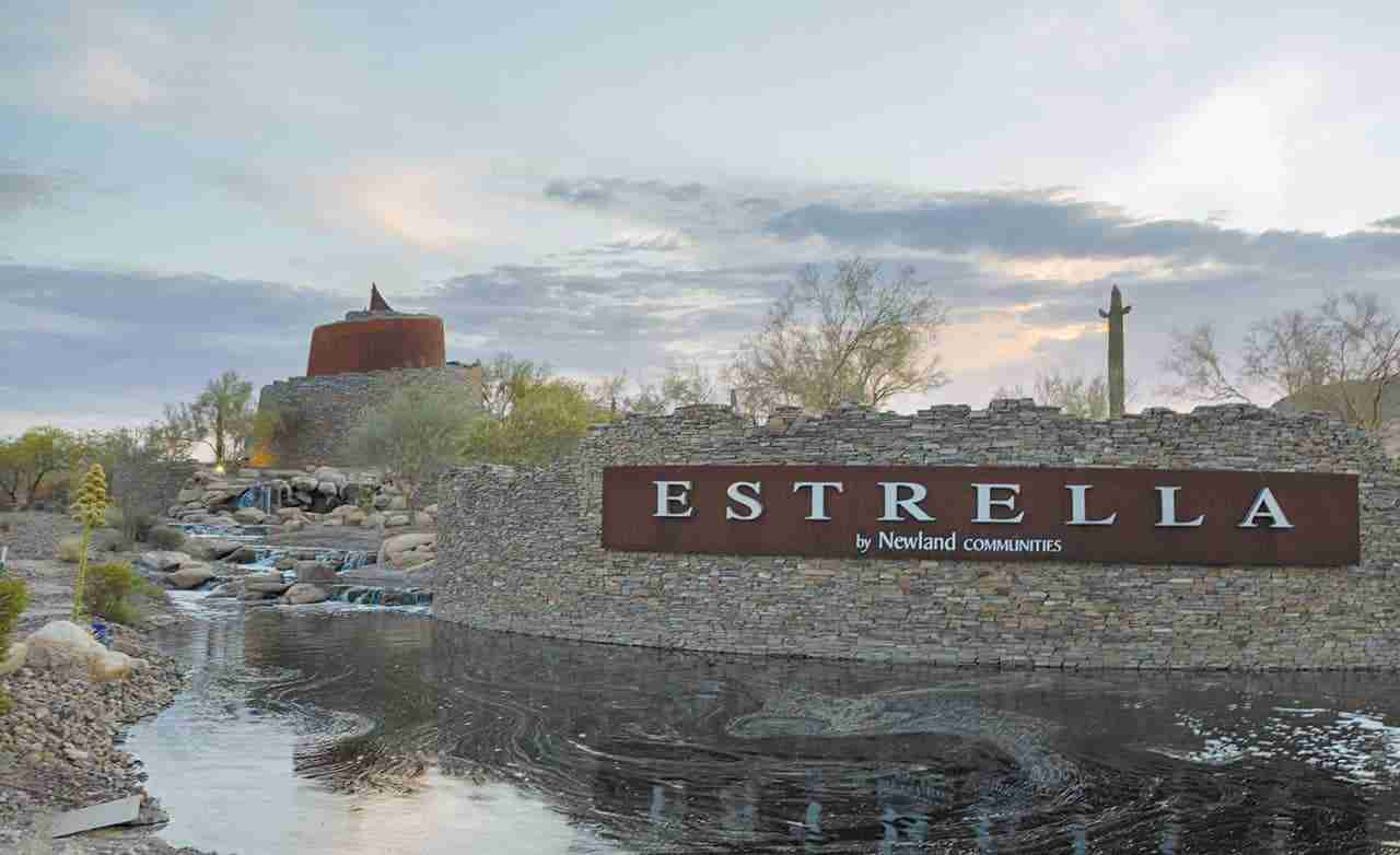 Lucero in Estrella Community Sign