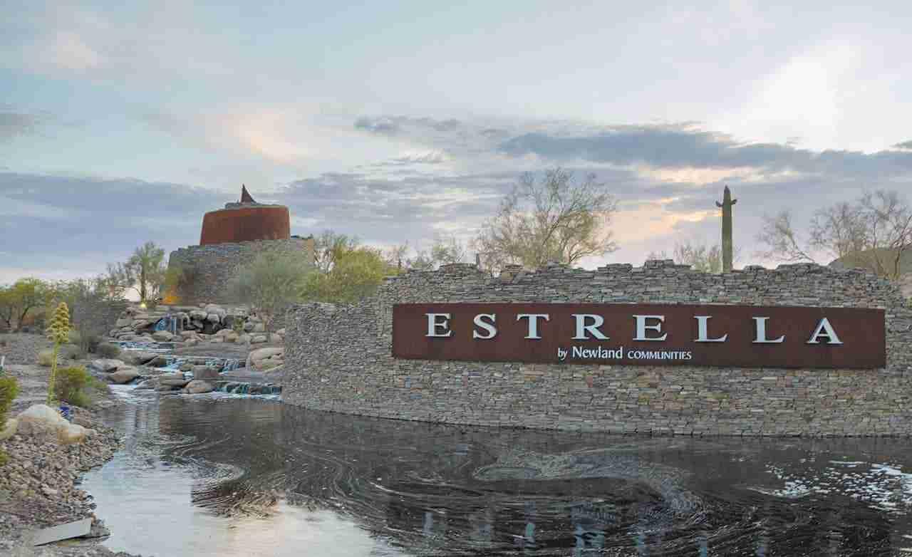 Lucero in Estrella Community Sign
