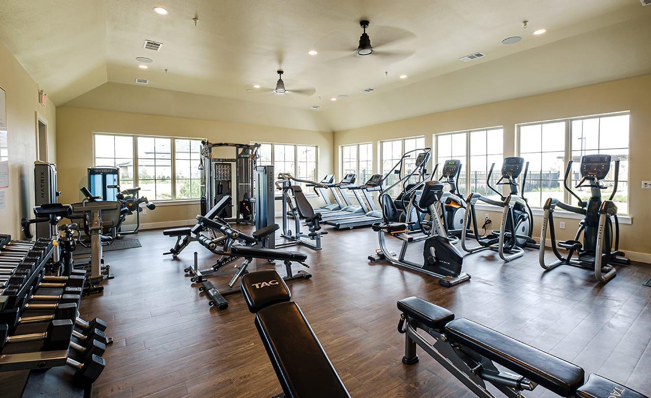 Mercer Crossing Community Fitness Center