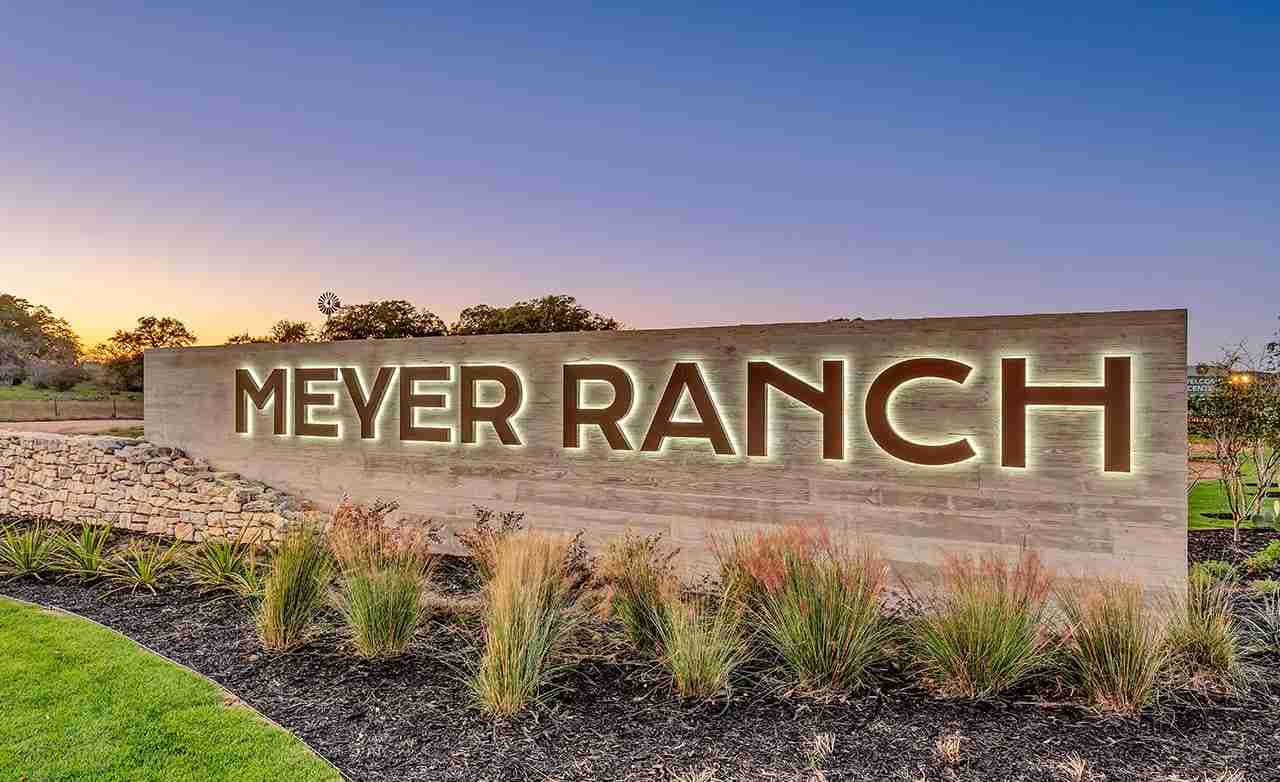 Meyer Ranch Community Sign
