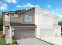 Townhome Series – Acadia E - Homestead: Leander, Texas - Gray Point Homes