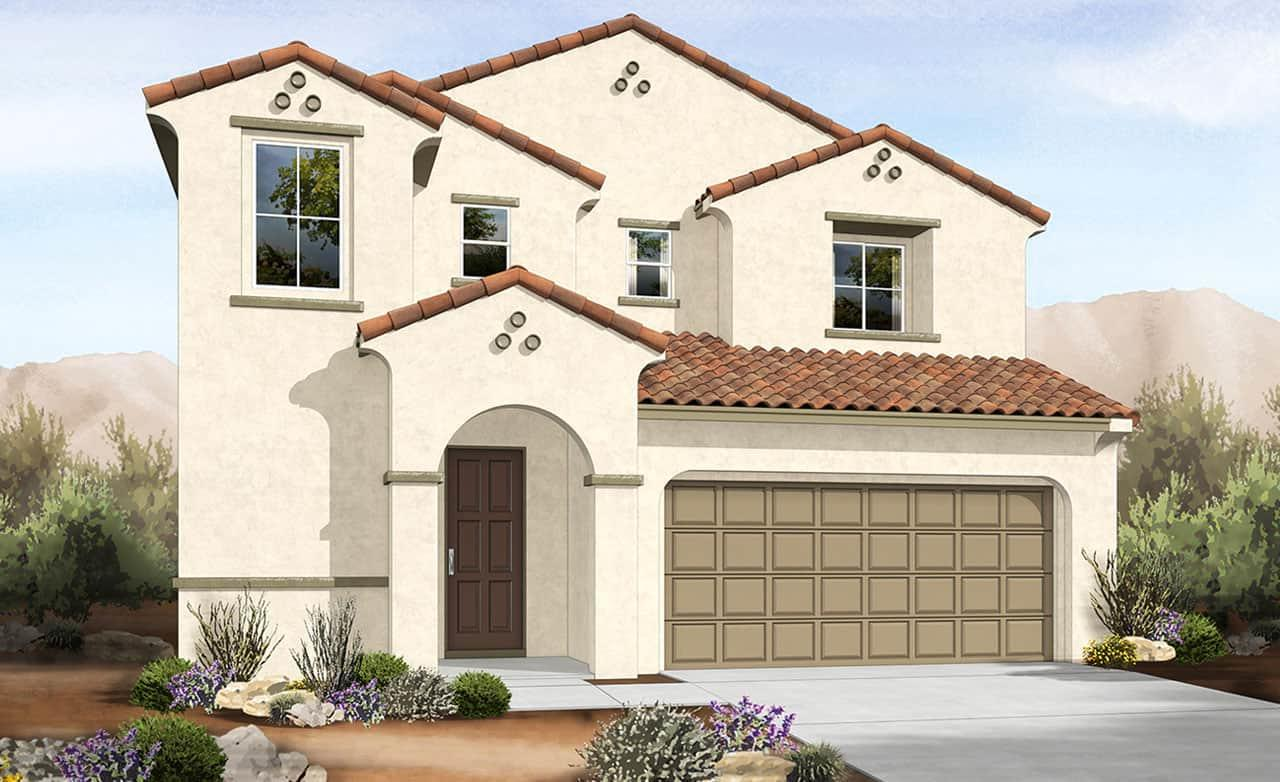 Spanish Colonial Elevation