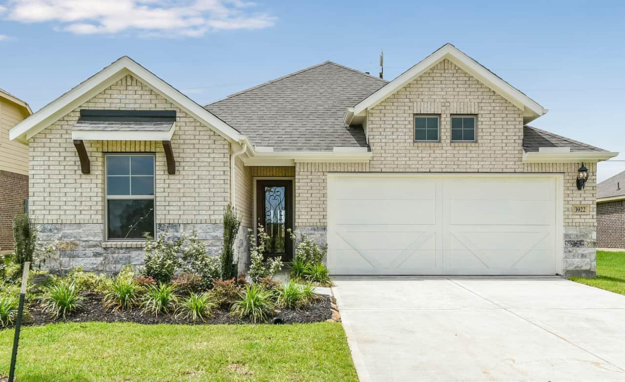 Exterior featured in the Enclave Series - Bermuda By Gehan Homes in Houston, TX