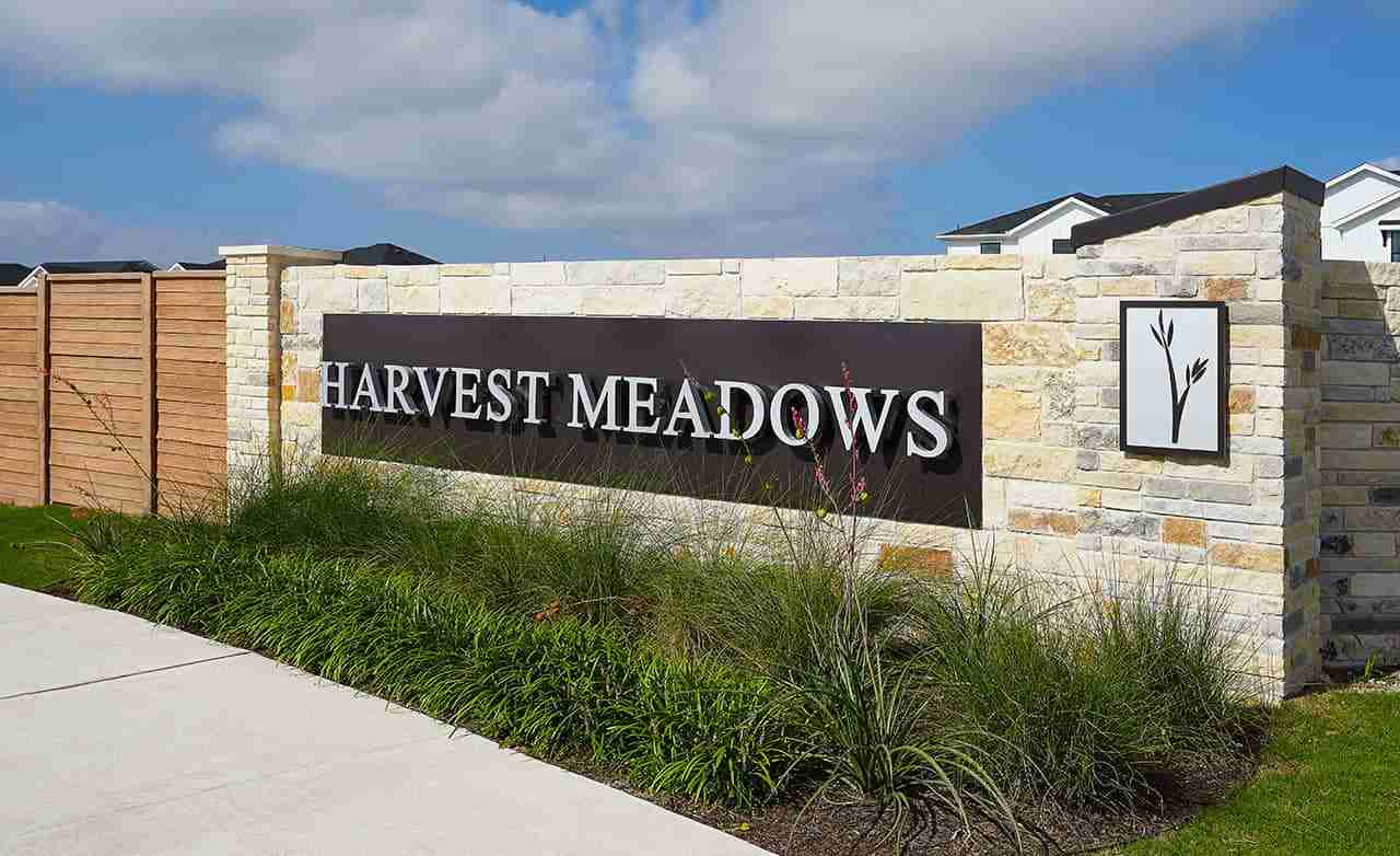 Harvest Meadows Community – Sign