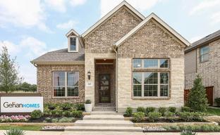 Waterbrook by Gehan Homes in Dallas Texas