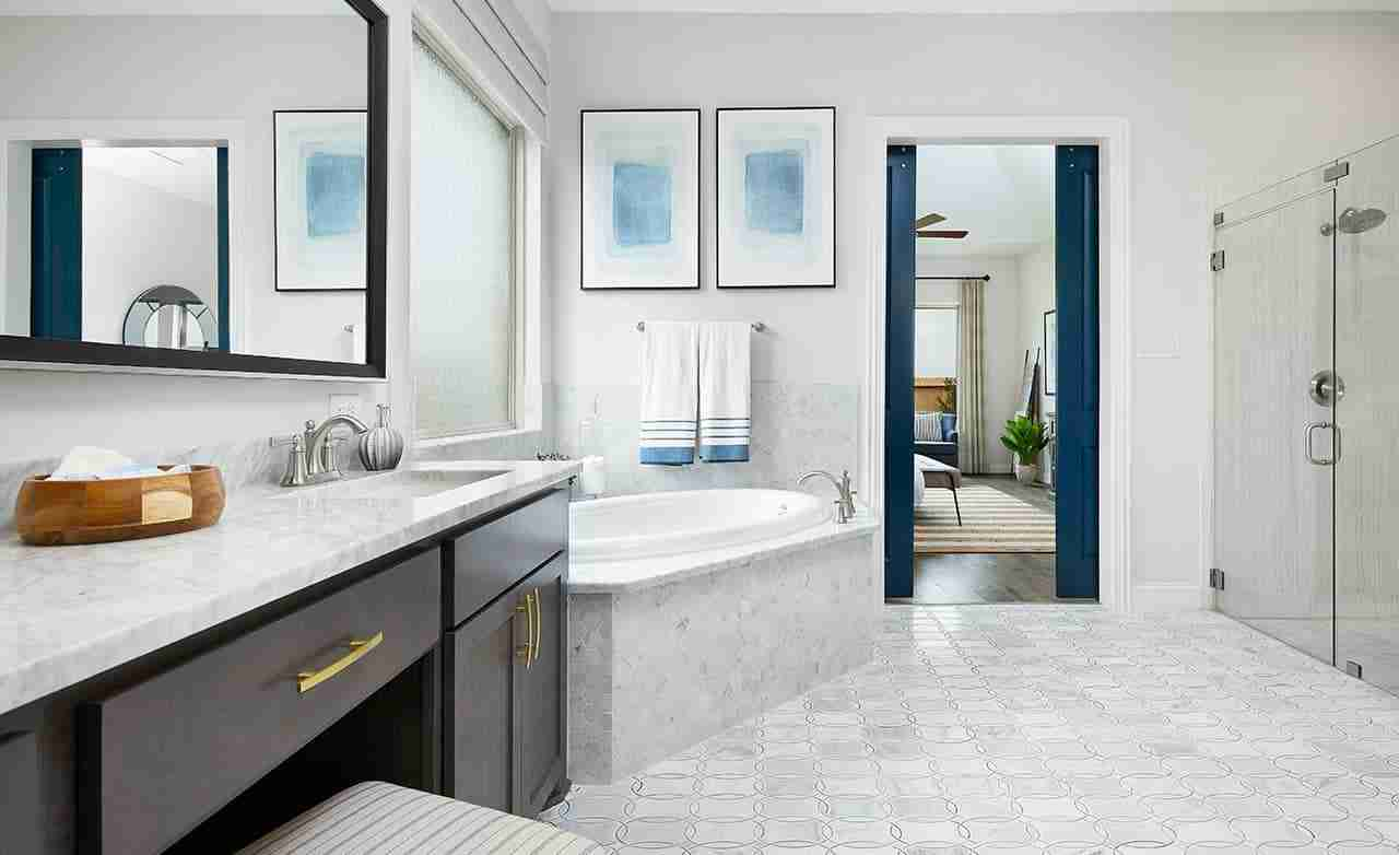 Tulane – Master Bathroom