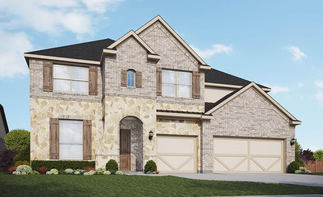 Exterior featured in the Classic Series - Cornell By Gehan Homes in Austin, TX