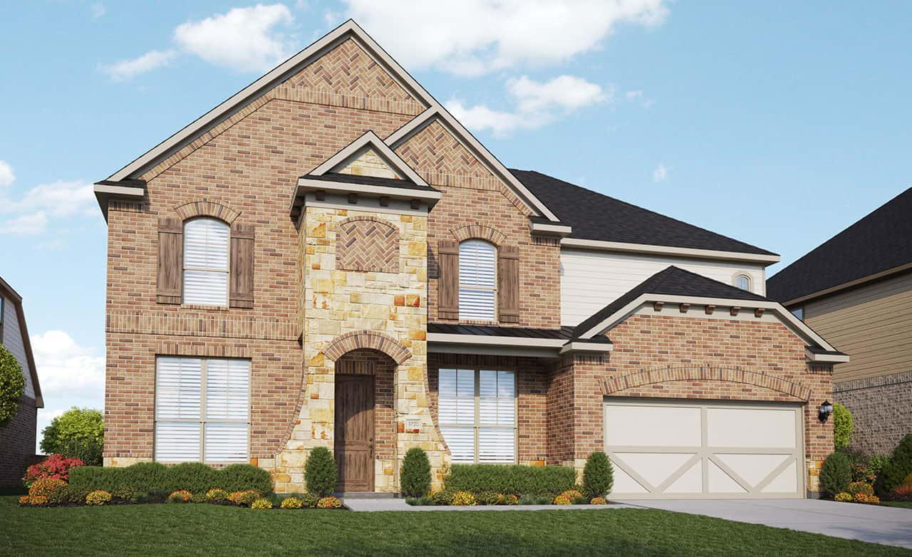 Exterior featured in the Classic Series - Brown By Gehan Homes in Houston, TX