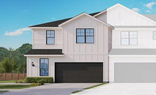 Townhome Series - Yosemite A - Harvest Meadows: Buda, Texas - Gray Point Homes