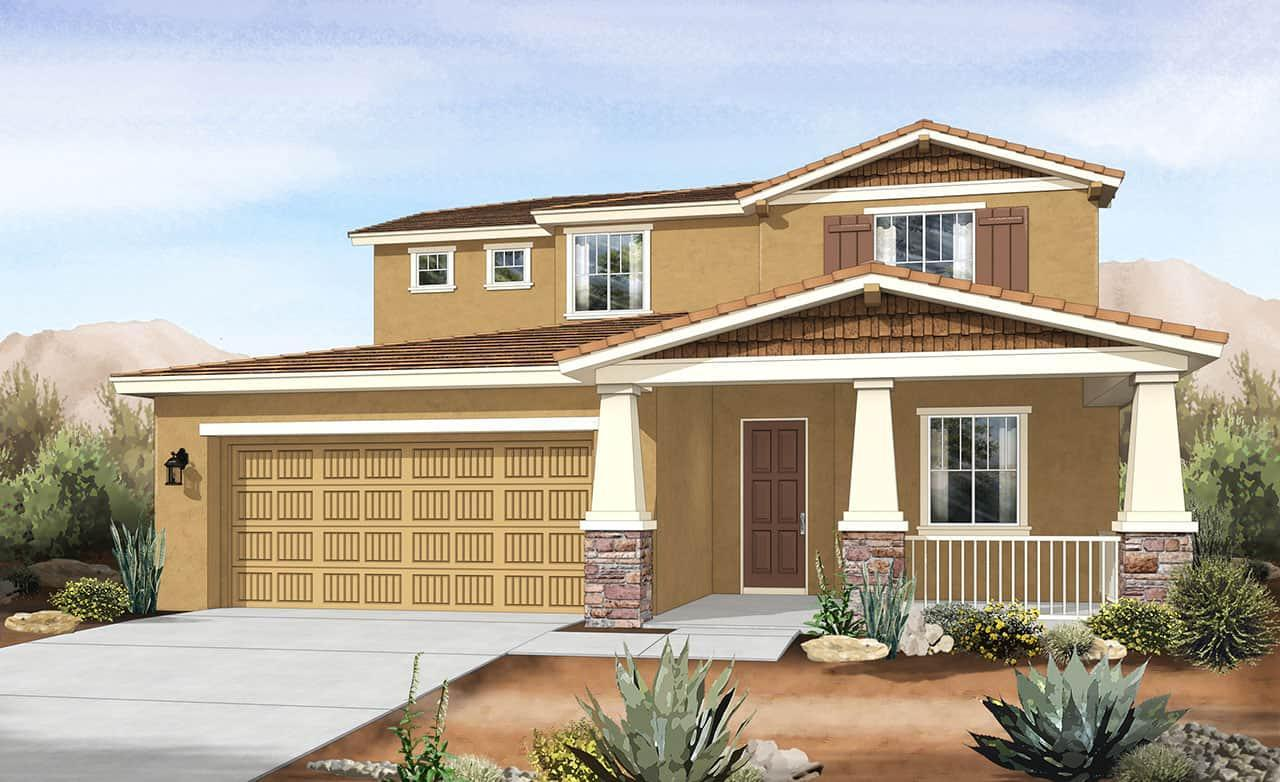 Exterior featured in the Villagio Series - Parma By Gehan Homes in Phoenix-Mesa, AZ