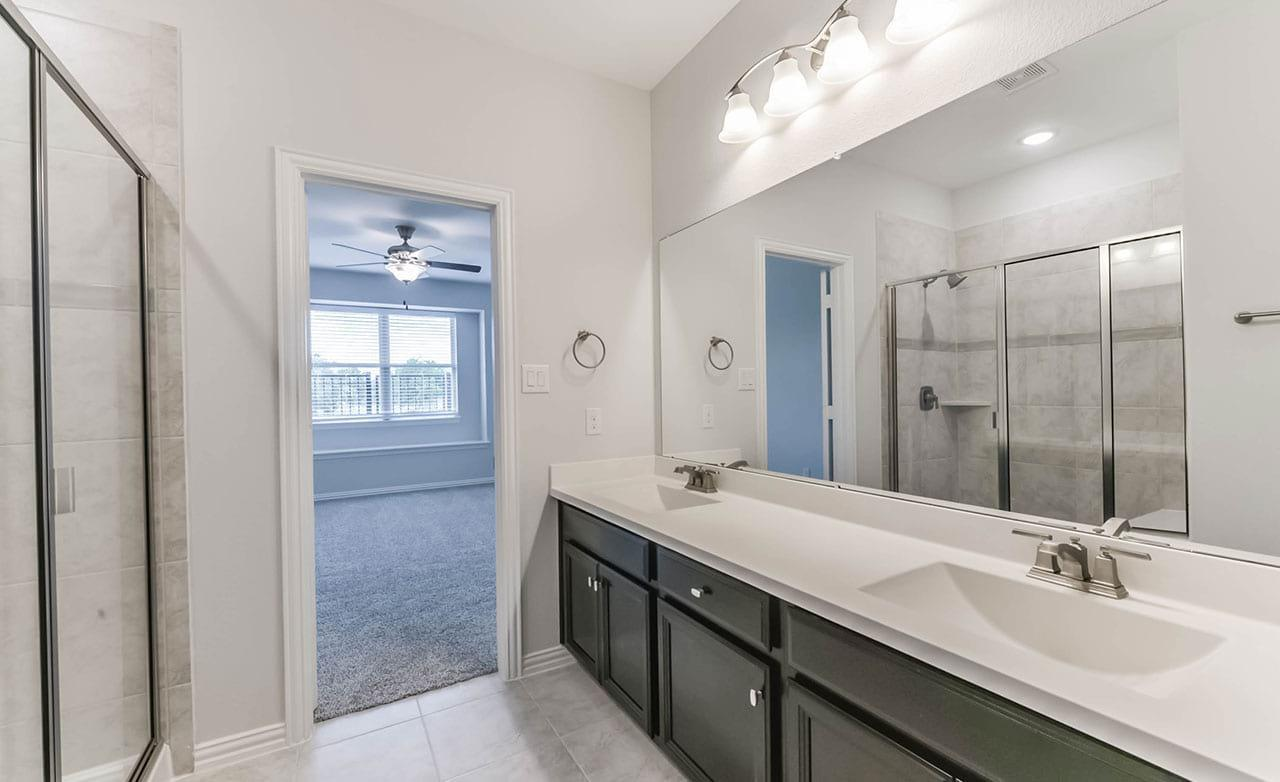 Bathroom featured in the Townhome Series - Yosemite F By Gehan Homes in Houston, TX