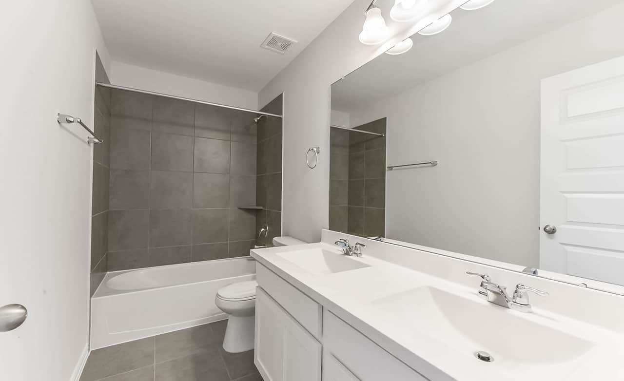 Bathroom featured in the Townhome Series - Yosemite A By Gehan Homes in Houston, TX