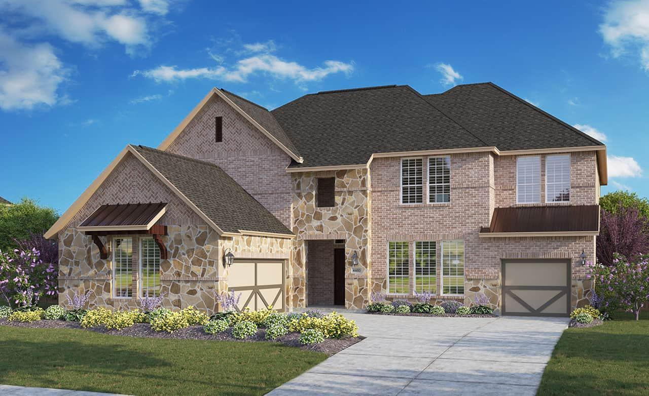 Exterior featured in the Signature Series - Partridge By Gehan Homes in Houston, TX
