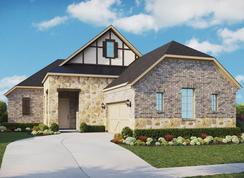 Regal Series - Alexandra - Albury Trails Estates: Tomball, Texas - Gehan Homes