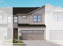 Townhome Series - Acadia E - Heritage Trails: Lewisville, Texas - Gehan Homes