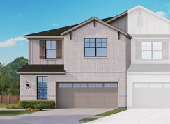 Townhome Series - Yosemite A - Heritage Trails: Lewisville, Texas - Gehan Homes
