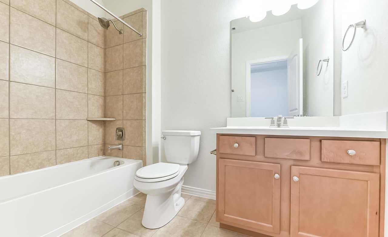 Bathroom featured in the Enclave Series - Bermuda By Gehan Homes in Houston, TX