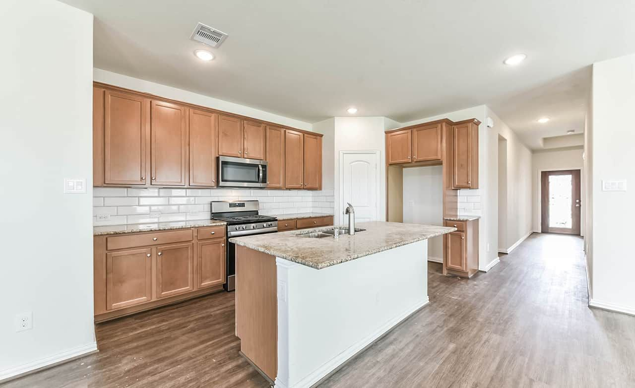 Kitchen featured in the Enclave Series - Bermuda By Gehan Homes in Houston, TX