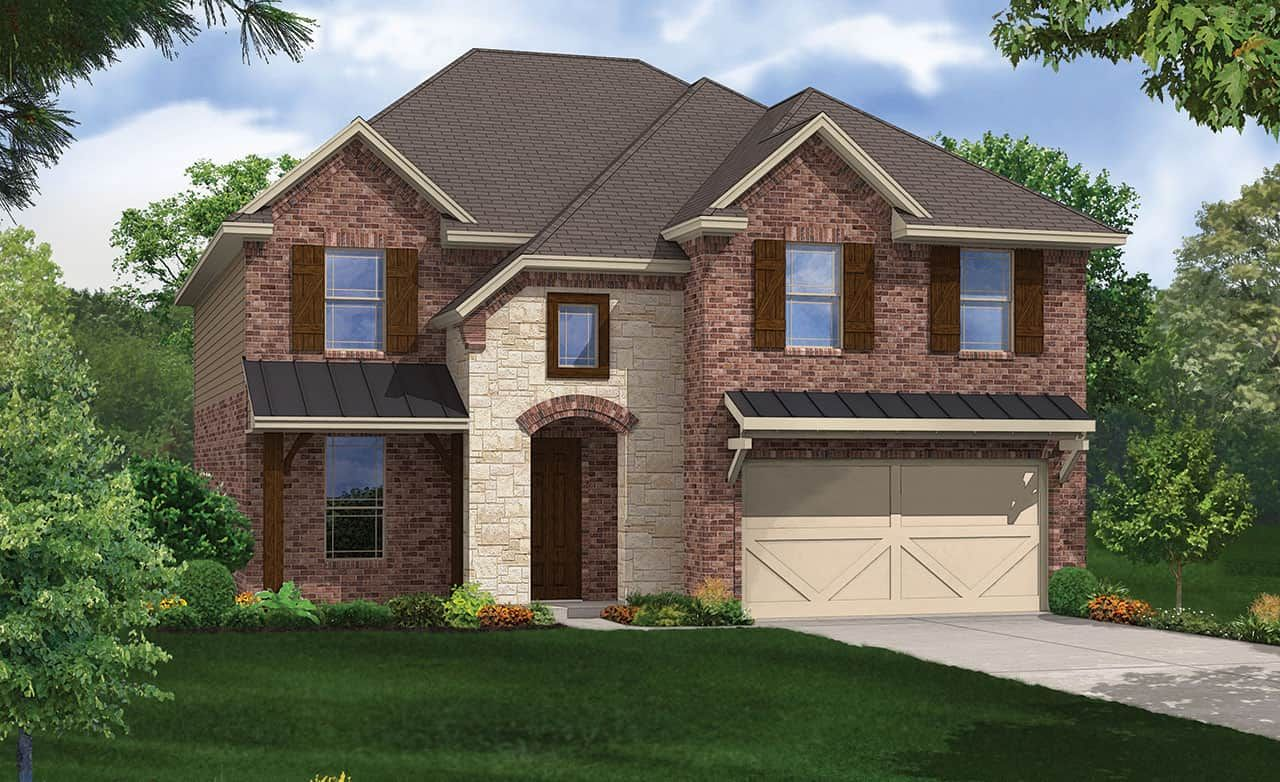 Exterior featured in the Premier Series - Mimosa By Gehan Homes in Houston, TX