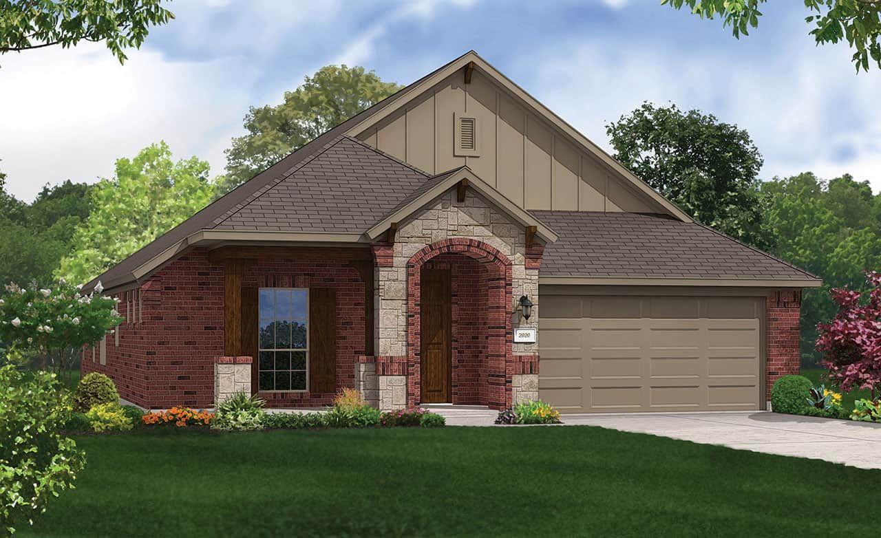Exterior featured in the Premier Series - Laurel By Gehan Homes in Houston, TX