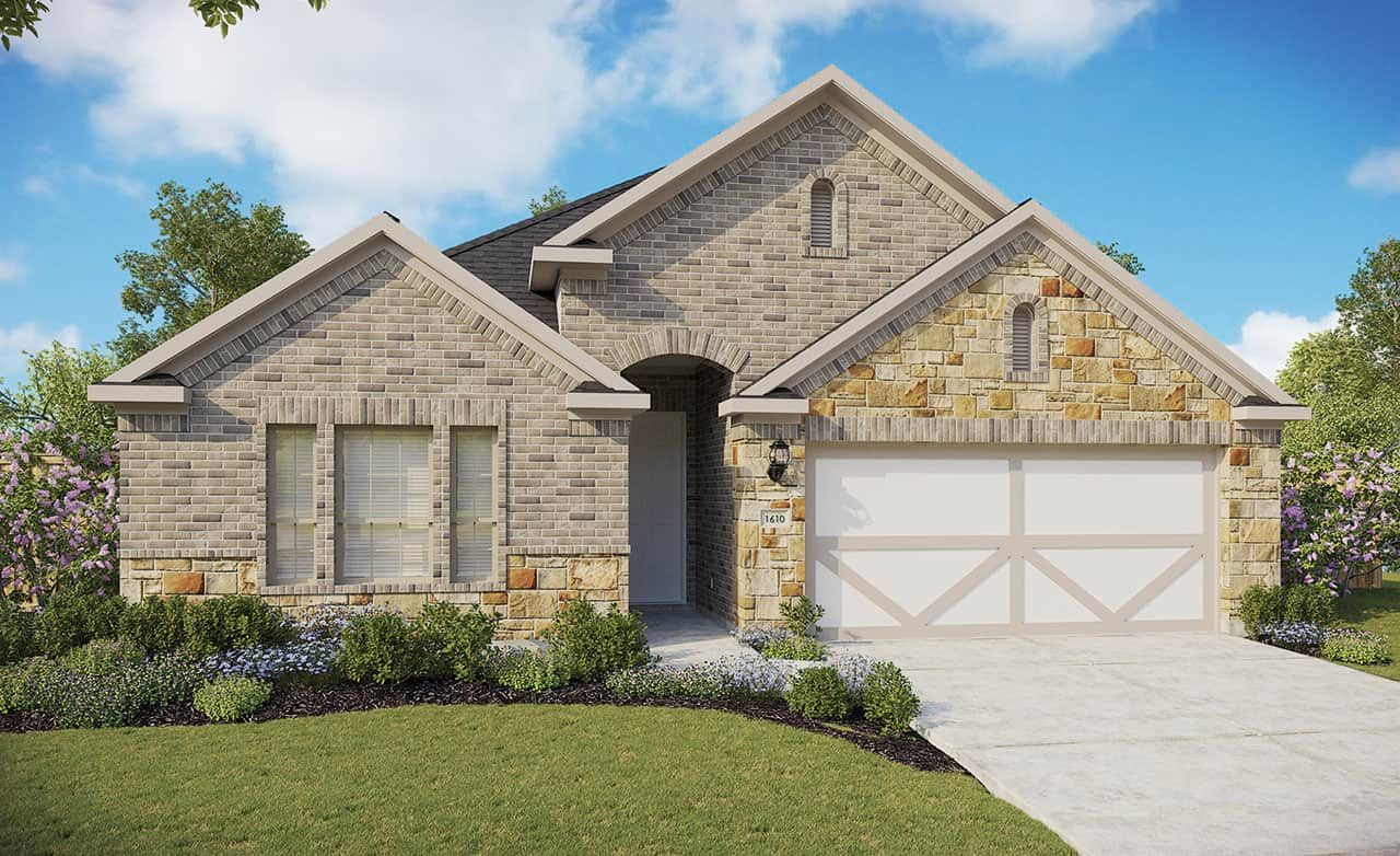 Exterior featured in the Premier Series - Beech By Gehan Homes in Houston, TX