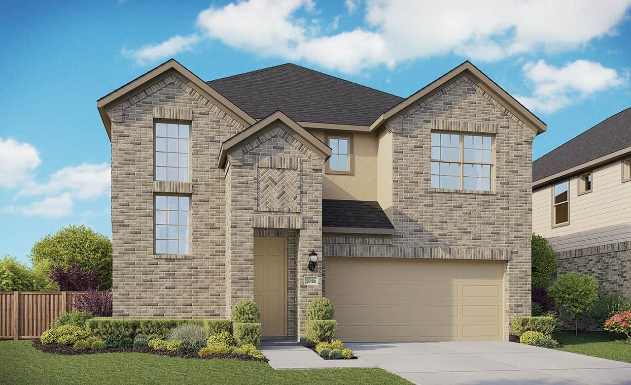 Exterior featured in the Enclave Series - Cayman By Gehan Homes in Houston, TX
